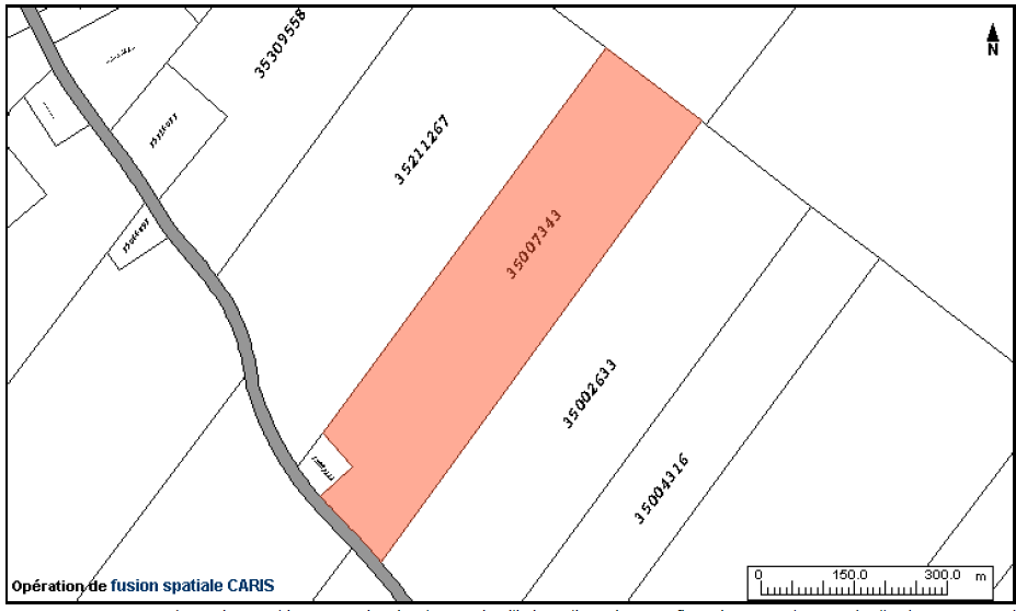 Commercial building and land for sale, Saint-François-de-Madawaska